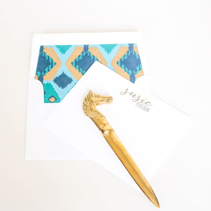 Horse letter openers products letters and horses for Rose gold letter opener
