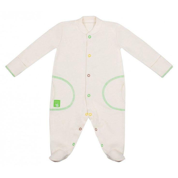 Vauvan haalari  Light beige/Green