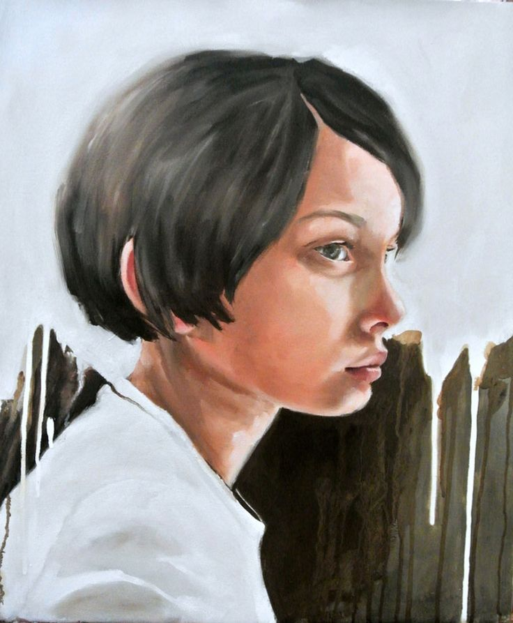 Girl by Mila Posthumus. http://www.stateoftheart.co.za/art/painting/girl-by-mila-posthumus/3078