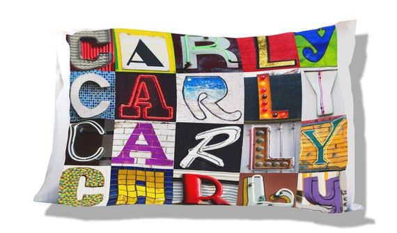 Personalized Pillow Case featuring