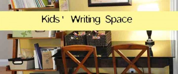Spaces for Kids to Write and Create Art