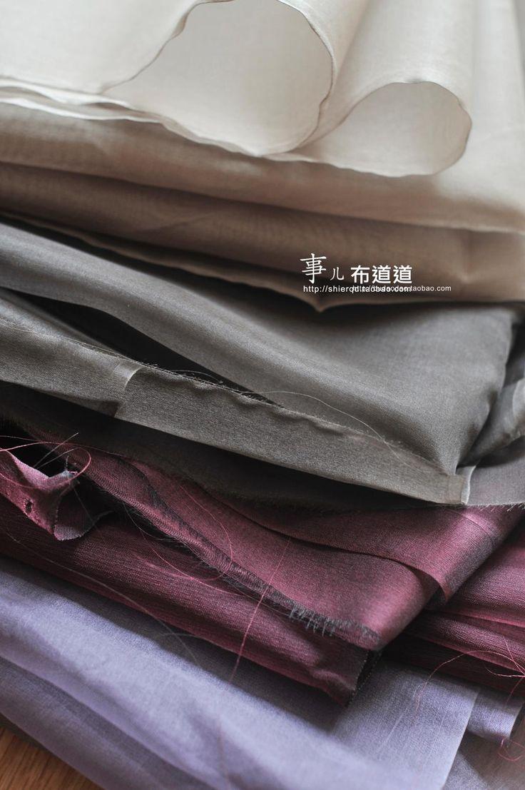 114 см * 50 см 100% Шелк шелковые ткани, органза модельер ткань натуральный шелк сырец прозрачный жесткий пряжи шелковой пряжи купить на AliExpress