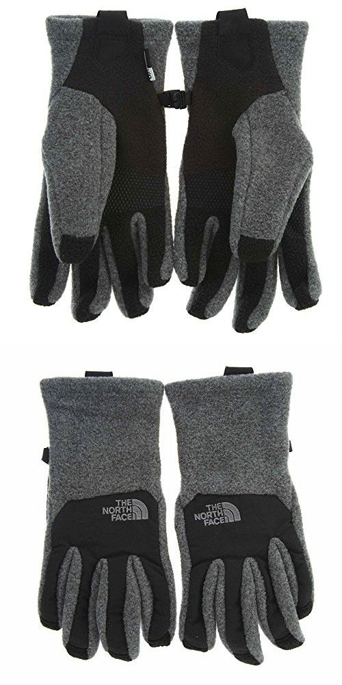 d1aef0c3d2a8 The North Face Women s Denali Etip Glove - medium gray heather black ...
