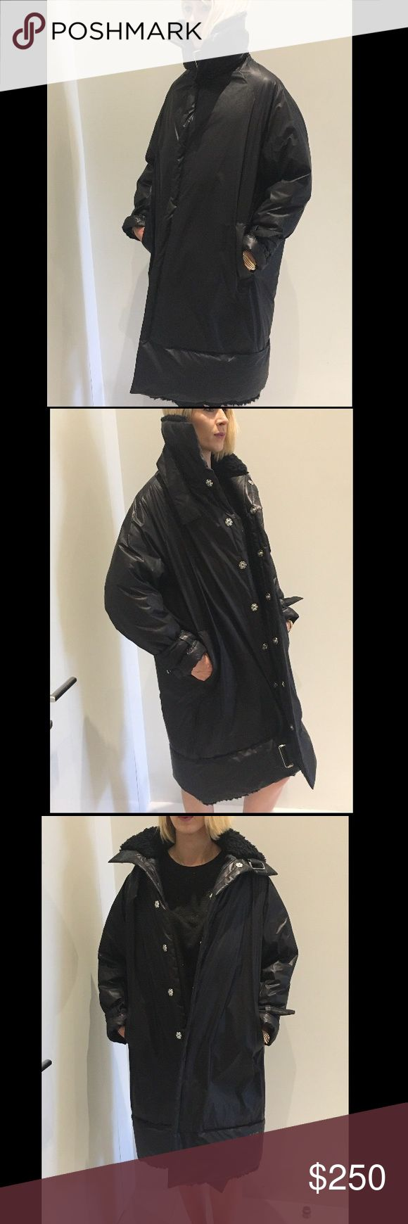 Long Puffer Y-3 Coat! Unisex 🖤💣😎 Good Condition! Worn Once! Long, Puffer Cool Coat by Y-3! I am 5ft9!💣✨🖤 Y-3 Jackets & Coats Puffers