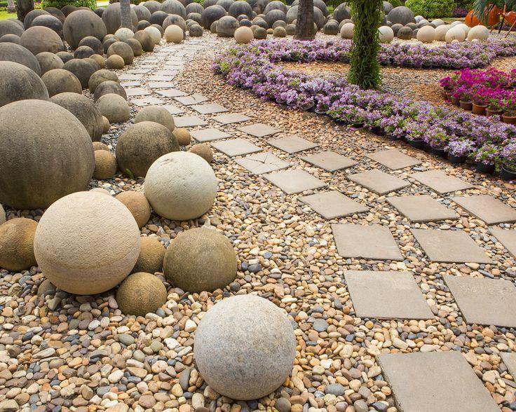 2086 best spheres images on pinterest glass marbles glass concrete garden balls workwithnaturefo