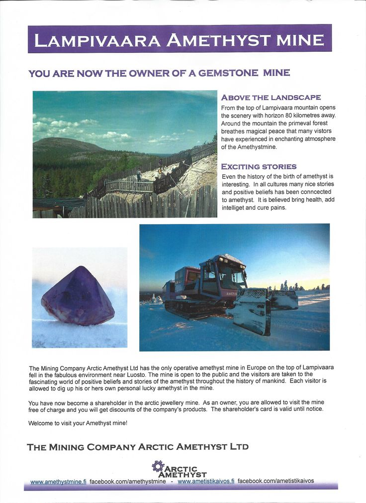 you are now the owner of a gemstone mine
