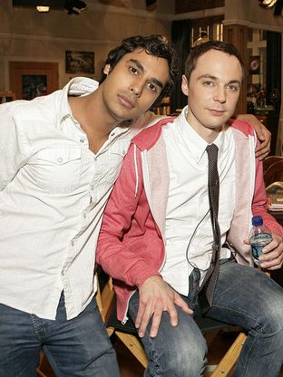 The Big Bang Theory - Raj is pretty hot in this pic...