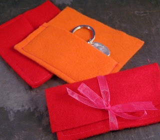 Creative Potential Blog: Creative Jewelry Packaging Series - Hand Made Felt Pouches