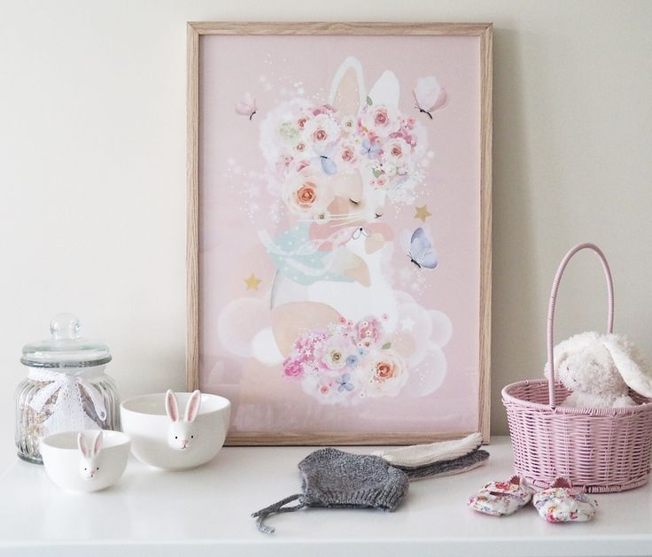 Easter bunny getting ready. All things girly and cute. Love the bunny bowls from target. Find out more in details at my Instagram feed.