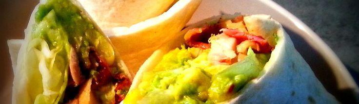 Club sandwich au poulet, maïs et guacamole