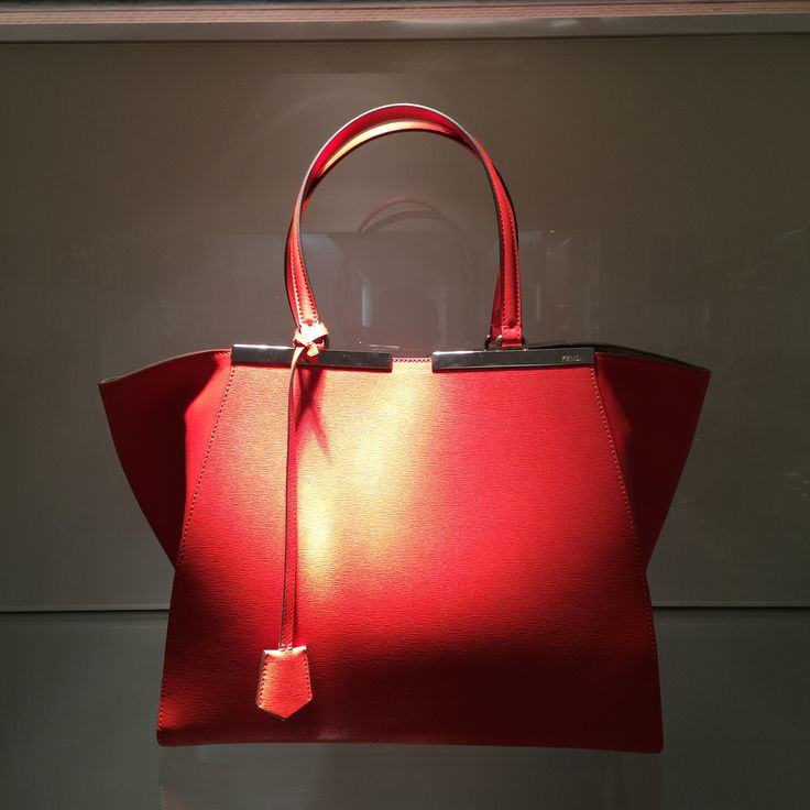 Bag by @fendiofficial #Fendi #bag #leather #FolliFollie #FW14collection