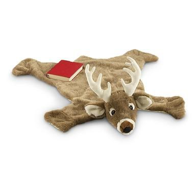 plush animal rug $19.97