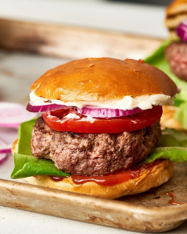 Behold The Butter Burger Here To Make Your Cookouts Infinitely Better Recipe Butter Burgers Homemade Burgers Juicy Hamburgers