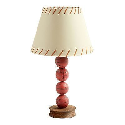 Stacked Basketball Lamp Ball Sports Table Accent Desk Light New Boys Room  Kid