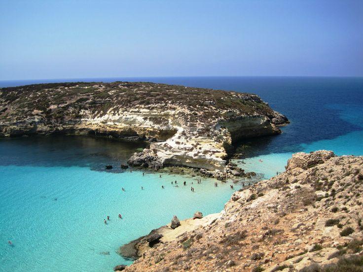 Isola dei conigli. Lampedusa