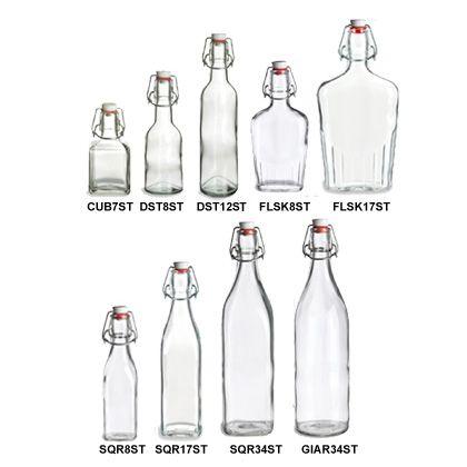 Specialty Bottle - Swingtop Glass Bottles