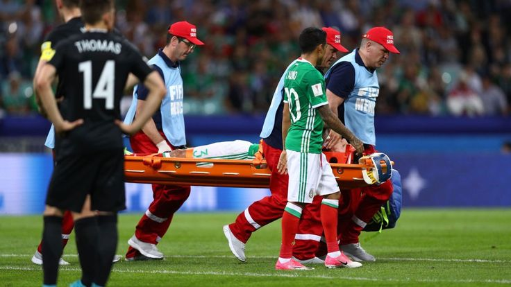 Mexico defender Carlos Salcedo ruled out of Confederations Cup