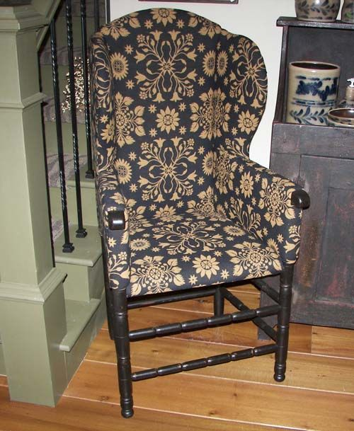 1000 images about reproduction colonial upholstered for Reproduction furniture