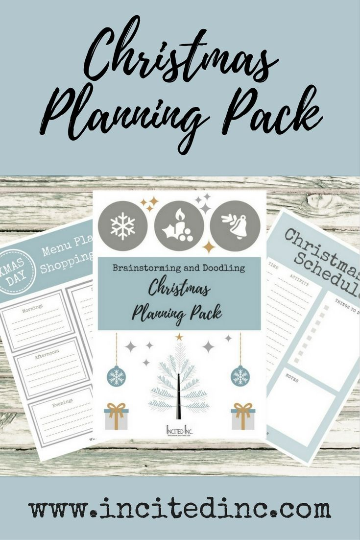 Grab a printable Christmas Planning Pack and get yourself on top of everything you need to do for Christmas. Includes a calendar, a gift buying planner, a Christmas Day schedule, menu planning and shopping. Also write up your guest list, and plan your table decorations. Print one off today!