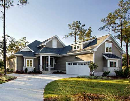 1000 images about house plans on pinterest house plans for House plans with garage on side