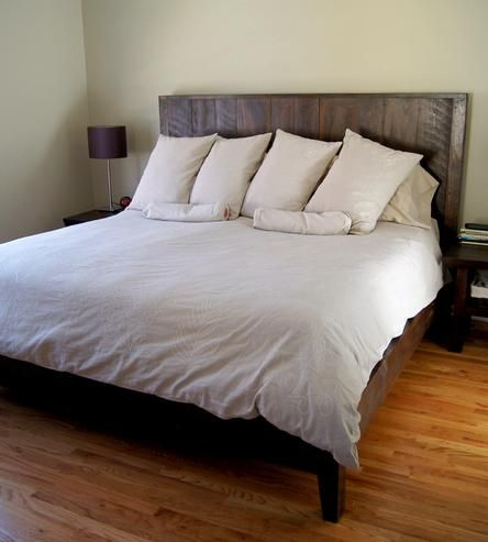 eaton reclaimed wood king size bed - Wood King Bed Frame
