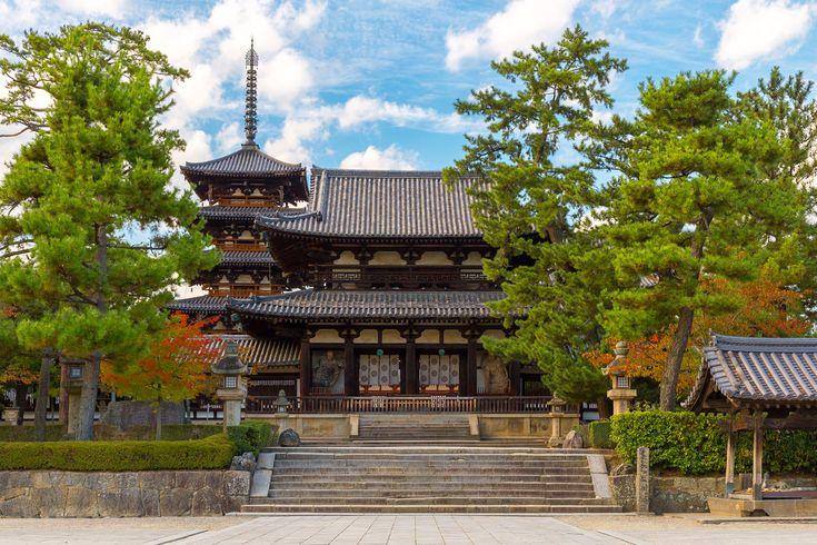 法隆寺 / Horyu-ji Temple   I want to introduce to the world, Na…   Flickr - Photo Sharing!