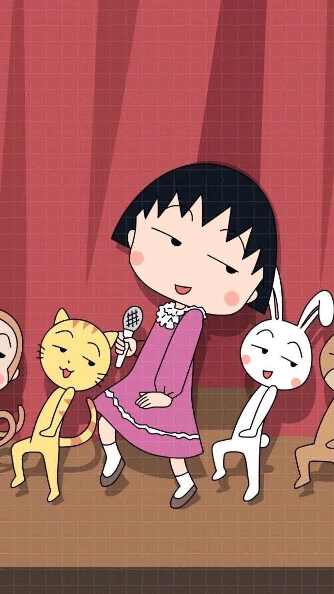Pin Oleh Ch Liew Di Chibi Maruko Chan Kartun Ilustrasi Animasi