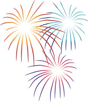 Fireworks Clipart | Fireworks Party, Plan a Fireworks Party, Plan a 4th of July Party ...