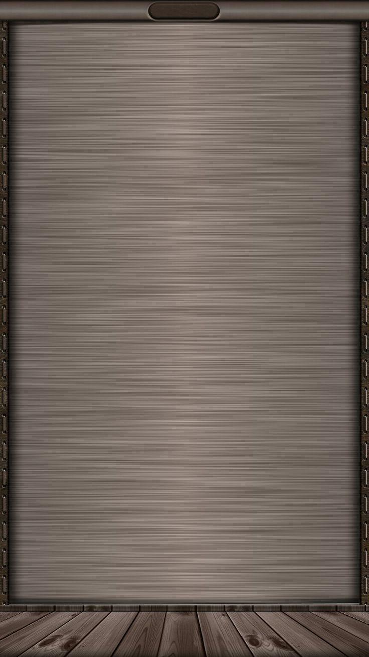 Sleek Neutral Steel Wallpaper