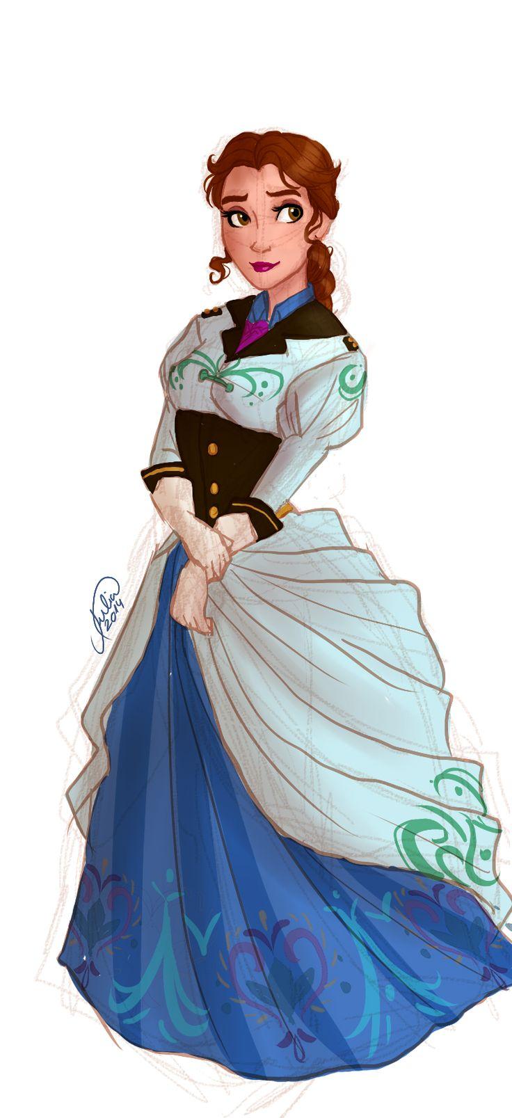 female Hans by juliajm15