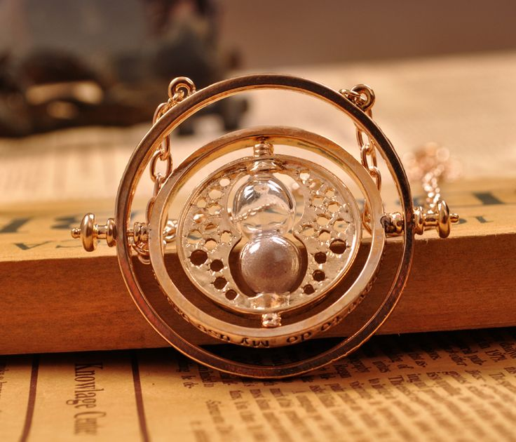12.82 Find More Pendants Information about High qualityHight Quality Harry Potter Time Turner Hourglass Necklace Pendant Hermione Granger Rotating Spins Gold Plated Lover',High Quality pendant necklace,China necklace box Suppliers, Cheap pendant with from sweet love's store on Aliexpress.com