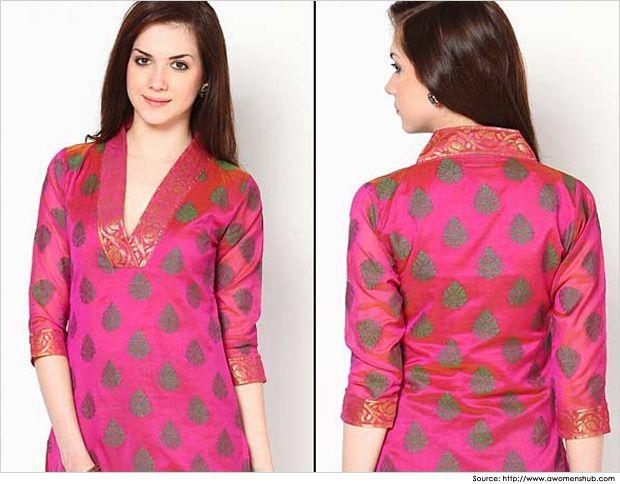 Cotton Salwar Kameez Neck Designs   Salwar Neck Pattern