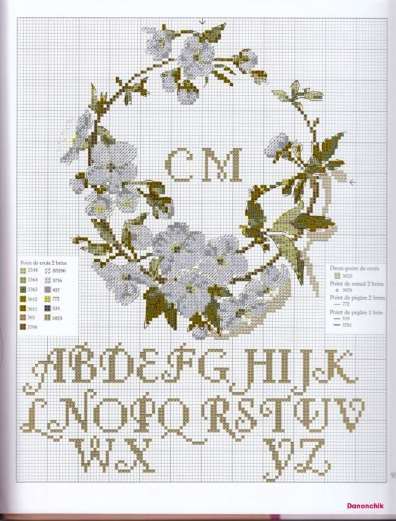 1372 besten Cross stich / embroidery Bilder auf Pinterest ...
