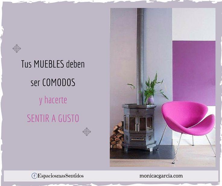 Elegí tus muebles de acuerdo a tus gustos y evalúa que tan cómodos te resultan