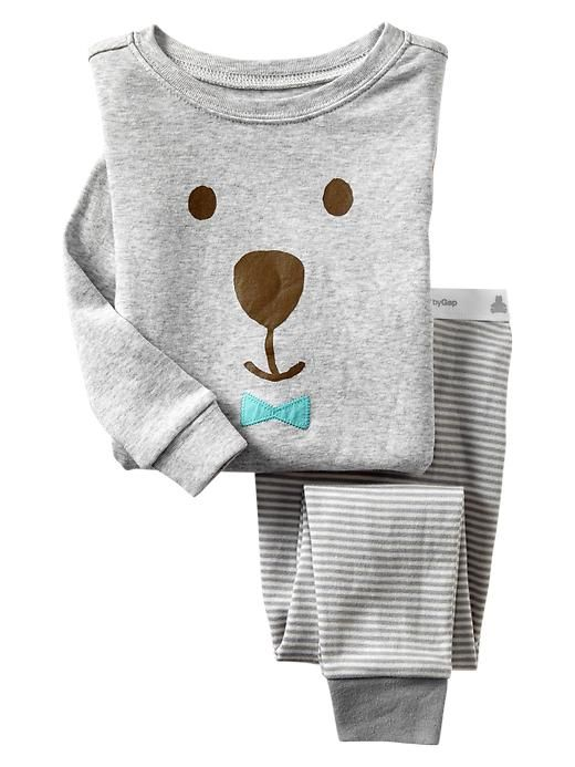 Bear bowtie sleep set | Gap