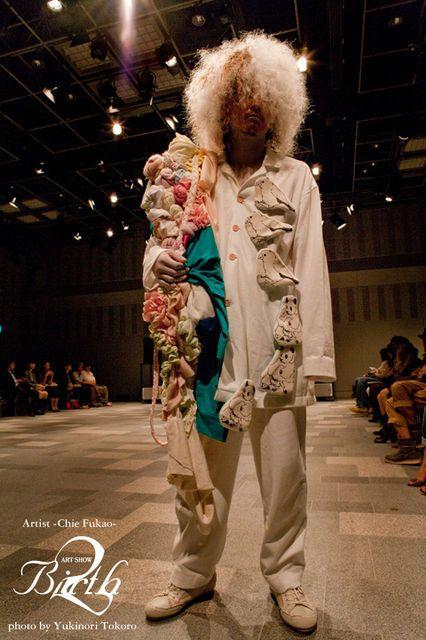 Artist Chie Fukao / Photographer Yukinori Tokoro / Hairmake Fumi Nakata / Model Hirokazu Kumagai