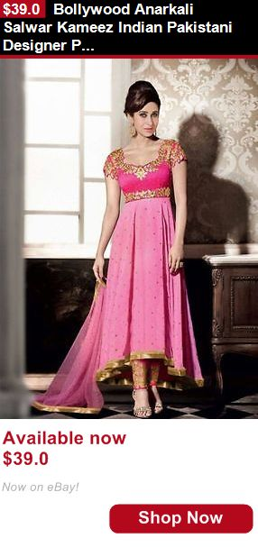 Cultural and ethnic clothing: Bollywood Anarkali Salwar Kameez Indian Pakistani Designer Partywear Ethnic Suit BUY IT NOW ONLY: $39.0