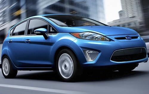 Ford Fiesta - drives more fun than Fit? - at the top of Edmunds list - good mileage