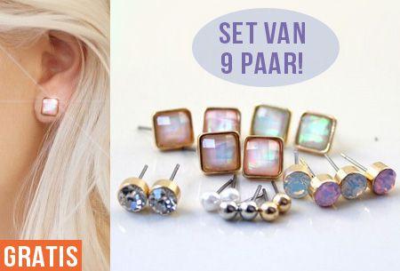 Prachtige sieraden heb je nooit genoeg. Daarom mogen deze trendy en stijlvolle oorbellen niet in jouw collectie ontbreken! #sieraden #oorbellen #gratis