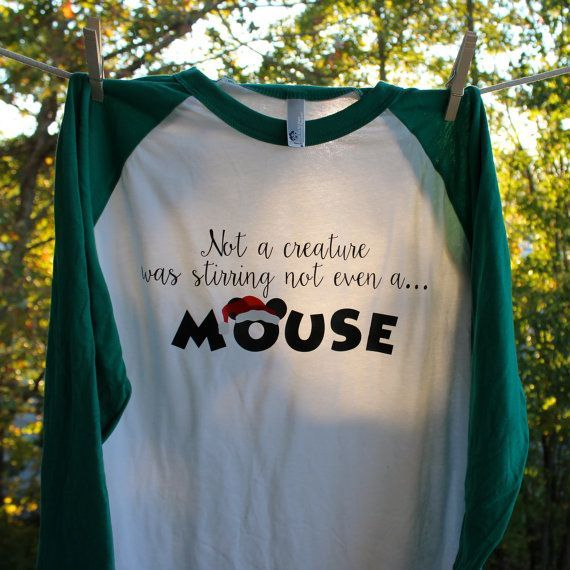 Must Have Disney Shirt For The Christmas Season