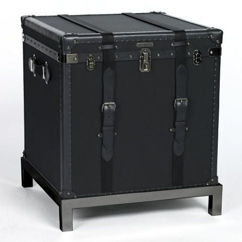 City Modern Trunk   Occasional Tables   Furniture   Products   Ralph Lauren  Home   RalphLaurenHome