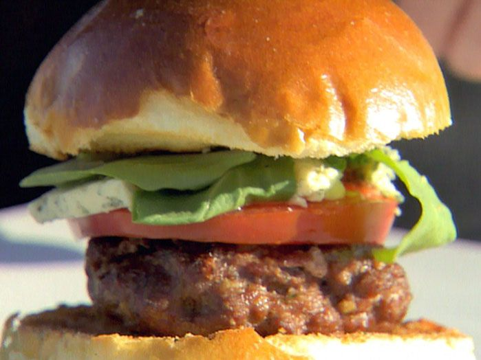 blue cheese burgers recipe ina garten food network foodnetworkcom - Food Network Com Barefoot Contessa Recipes