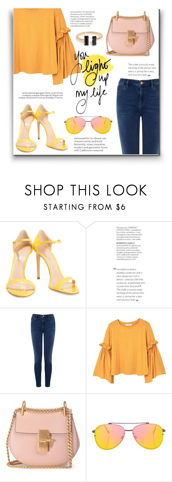 """Patent Leather"" by achernar ❤ liked on Polyvore featuring Casadei, Warehouse, MANGO, Chloé and Topshop"
