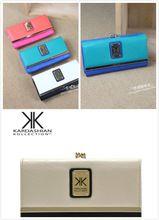 nouveau design kardashian kollection portefeuilles femmes bourse d'embrayage de luxe portefeuilles dame marque féminine carteira feminina bourse femmes(China (Mainland))