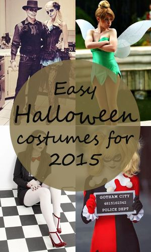 Awesome 10 easy Halloween costumes for 2015