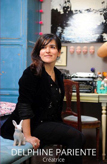 Delphine Pariente créatrice de bijoux - Delphine Pariente