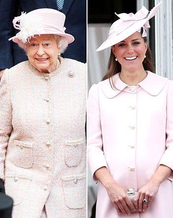 kate middleton and queen elizabeth similar styles   Kate Middleton Latest News