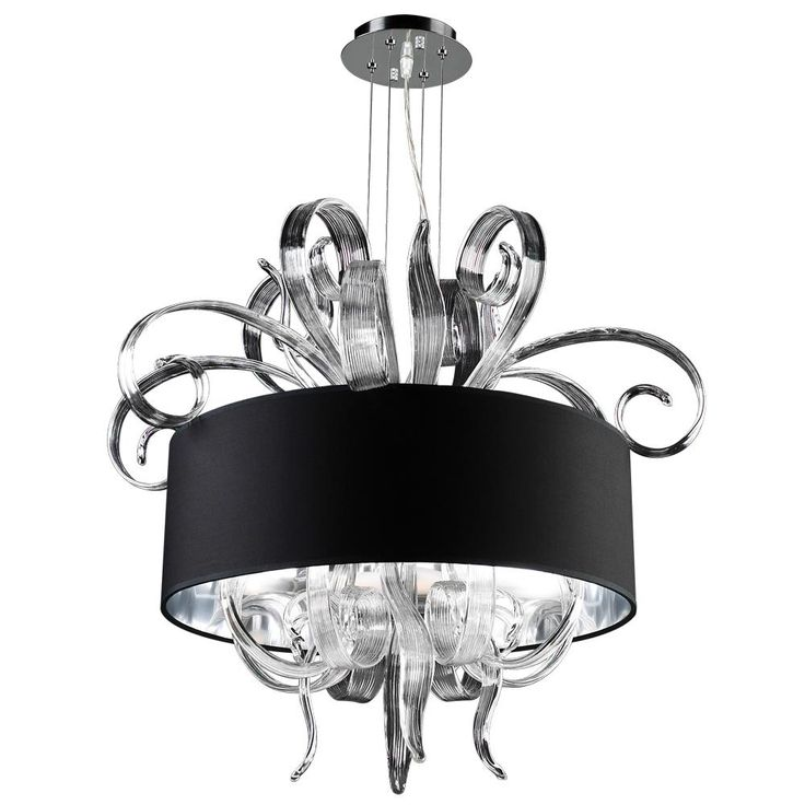 Plc 6 Light Chandelier Valeriano Collection 34147 Pc