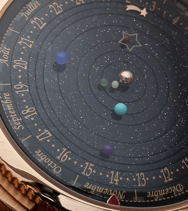 """Van Cleef & Arpels Complication Poetique Midnight Planetarium Watch Hands-On - Learn more about this interesting watch and see the full photo gallery on aBlogtoWatch.com """"Van Cleef & Arpels is not a watch brand we normally associate with men's watches. That isn't to say that the Paris 'maison' doesn't cater to males, but rather that the luxury maker's offerings for women are so strong they overshadow the pieces for men..."""" #ablogtowatchSIHH2014"""