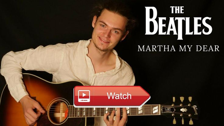 The Beatles Martha My Dear Guitar fingerstyle by Mads Klinge  The Beatles Martha My Dear arranged and performed by Mads Klinge Shot and edited by Mikkel Stanley Nielsen Find the